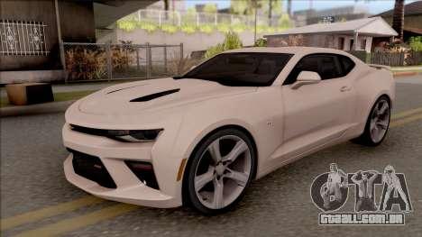 Chevrolet Camaro SS para GTA San Andreas