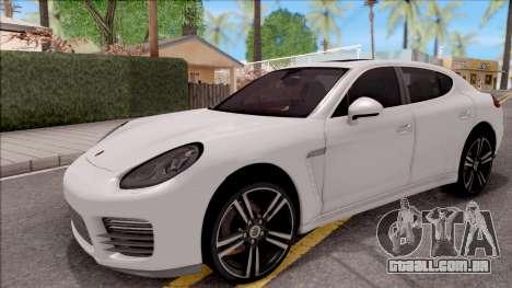 Porsche Panamera GTS para GTA San Andreas