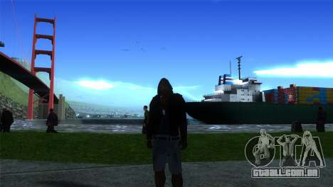 ENB LOW SPEC para GTA San Andreas segunda tela