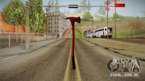 Silent Hill Downpour - Fire Axe SH DP para GTA San Andreas terceira tela