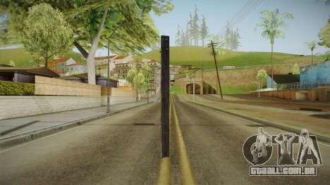 Silent Hill Downpour - Wooden Plank SH DP para GTA San Andreas terceira tela