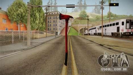 Silent Hill Downpour - Fire Axe SH DP para GTA San Andreas segunda tela