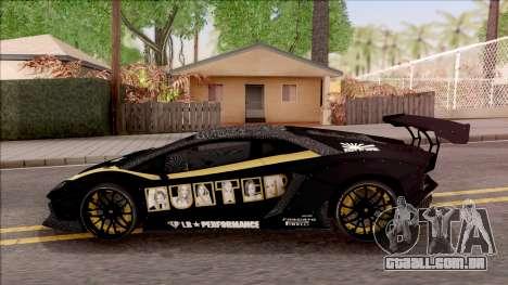 Lamborghini Aventador LP700-4 LB Walk Hunter para GTA San Andreas