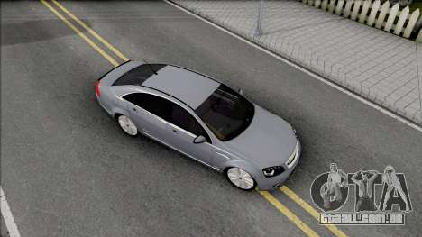 Chevrolet Caprice SS 2015 para GTA San Andreas