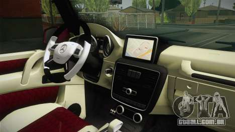 Mercedes-Benz G65 AMG 2013 para GTA San Andreas