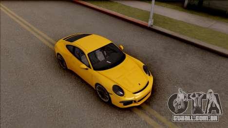 Porsche 911 R para GTA San Andreas vista direita