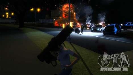 ENB LOW SPEC para GTA San Andreas terceira tela