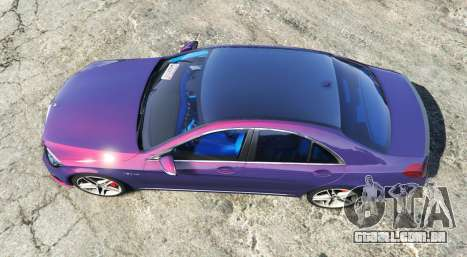 GTA 5 Mercedes-Benz S63 red brake caliper [replace] voltar vista