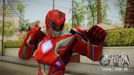 Red Ranger Skin para GTA San Andreas