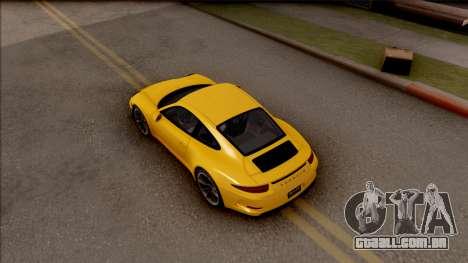 Porsche 911 R para GTA San Andreas vista traseira
