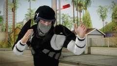 Mirror Edge Cop Heavy v2 para GTA San Andreas