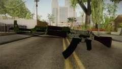 CS: GO AK-47 Hydroponic Skin para GTA San Andreas