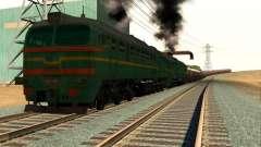 Frete Locomotiva 2M62 1184 Masha