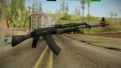 CS: GO AK-47 Emerald Pinstripe Skin