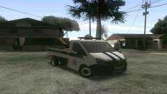 Gazela Próximo de Reboque DPS para GTA San Andreas