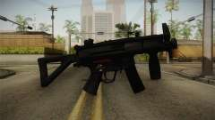Mirror Edge HK MP5K-PDW para GTA San Andreas