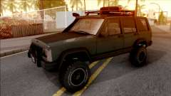 Jeep Cherokee 1984 Off-Road para GTA San Andreas