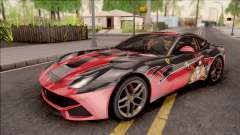 Ferrari F12 Berlinetta Kurumi Itasha Rezurrecti para GTA San Andreas