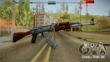 CS: GO AK-47 Cartel Skin para GTA San Andreas