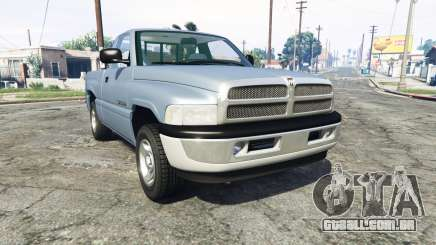 Dodge Ram 1500 1999 [add-on] para GTA 5