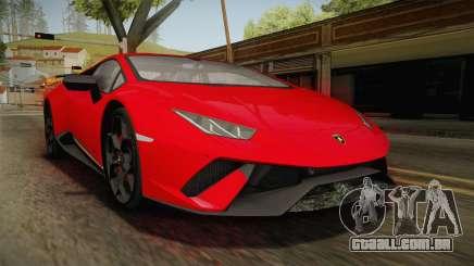 Lamborghini Huracan Performante LP640-4 2017 v1 para GTA San Andreas