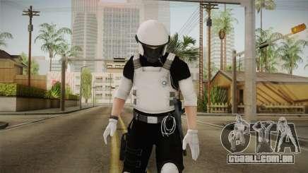 Mirror Edge Riot Cop v2 para GTA San Andreas