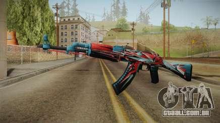 CS: GO AK-47 Point Disarray Skin para GTA San Andreas
