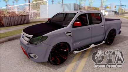 Ford Ranger 2014 Edition Flux Som para GTA San Andreas