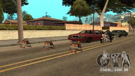 Barreiras para GTA San Andreas
