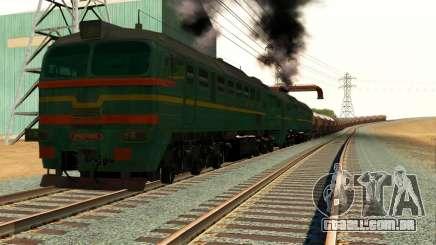 Frete Locomotiva 2M62 1184 Masha para GTA San Andreas