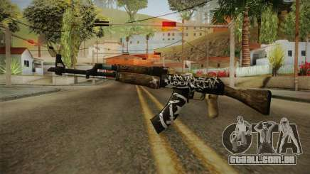 CS: GO AK-47 Wasteland Rebel Skin para GTA San Andreas