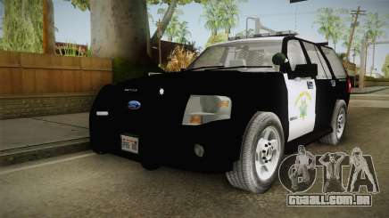 Ford Expedition CHP para GTA San Andreas