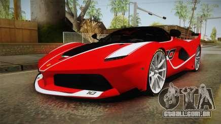 Ferrari FXX-K para GTA San Andreas