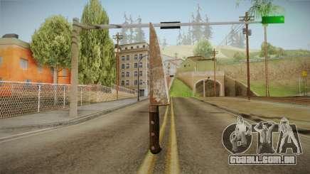 Silent Hill Downpour - Knife SH DP v2 para GTA San Andreas