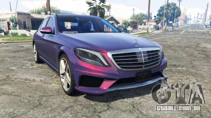 Mercedes-Benz S63 red brake caliper [replace] para GTA 5