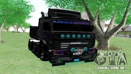 KAMAZ 65115 BLACK NIGHT para GTA San Andreas