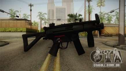 Mirror Edge HK MP5K-PDW para GTA San Andreas