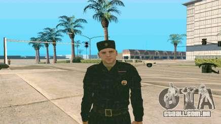 Superiores da Polícia, o Sargento v. 1 para GTA San Andreas