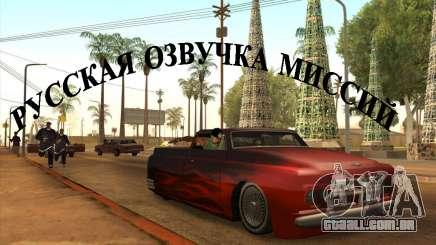 Voz russo para GTA San Andreas
