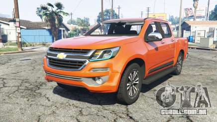 Chevrolet S10 Double Cab 2017 [replace] para GTA 5