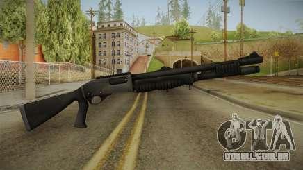 Mirror Edge Remington M870 para GTA San Andreas