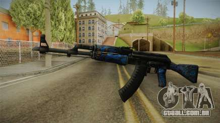 CS: GO AK-47 Blue Laminate Skin para GTA San Andreas