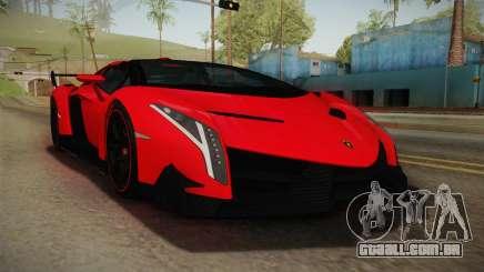 Lamborgini Veneno Roadster 2014 IVF v2 para GTA San Andreas