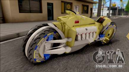 Dodge Tomahawk Gold para GTA San Andreas