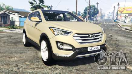 Hyundai Santa Fe (DM) 2013 [add-on] para GTA 5