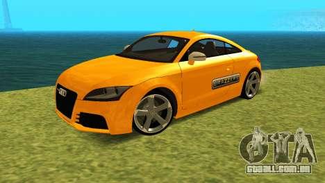 Audi TT RS Afonya TV para GTA San Andreas