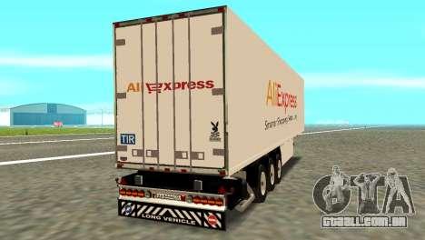 Trailer Aliexpress para GTA San Andreas esquerda vista