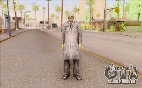 Zombie cientista do S. T. A. L. K. E. R. para GTA San Andreas segunda tela