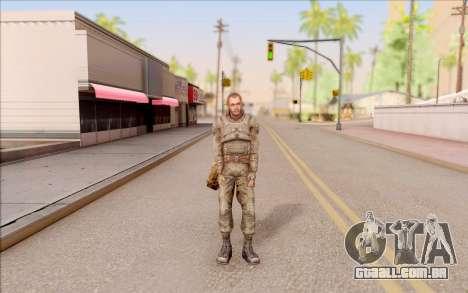 Mole do S. T. A. L. K. E. R. para GTA San Andreas segunda tela