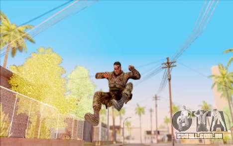 Zombie Degtyarev do S. T. A. L. K. E. R. para GTA San Andreas sexta tela